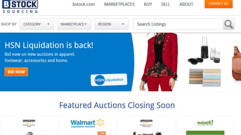 Обзор маркетплейса ликвидации товарных остатков B-Stock