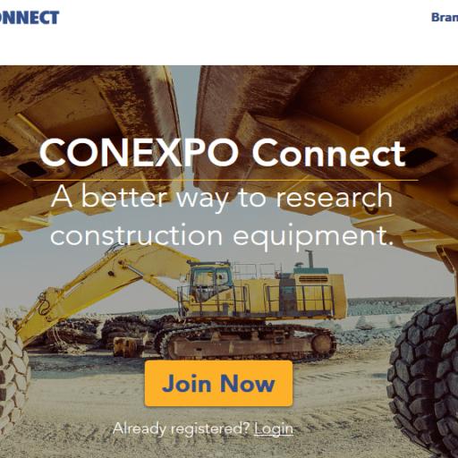 Маркетплейс CONEXPO Connect для строительного рынка