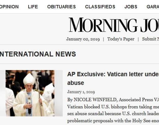 Как добавить новость в Morning Journal News
