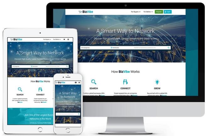 Маркетплейс BizVibe для экспортеров и импортеров