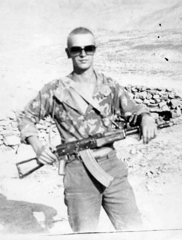 На 3-ей заставе, 1-ой ММГ, в/ч 2099. Ущелье Мармоль, Афганистан