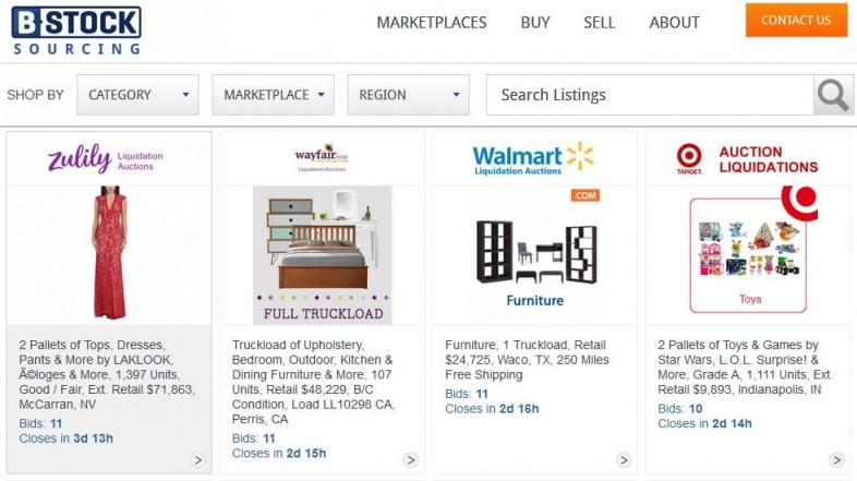 B-Stock — бизнес на распродаже товарных остатков