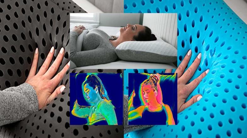 CarbonIce – проветриваемая ортопедическая подушка без пылевых клещей