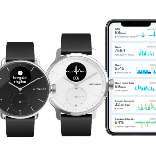 ScanWatch от Withings — новый этап развития умных часов