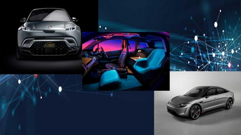 Автомобили будущего на выставке CES 2020